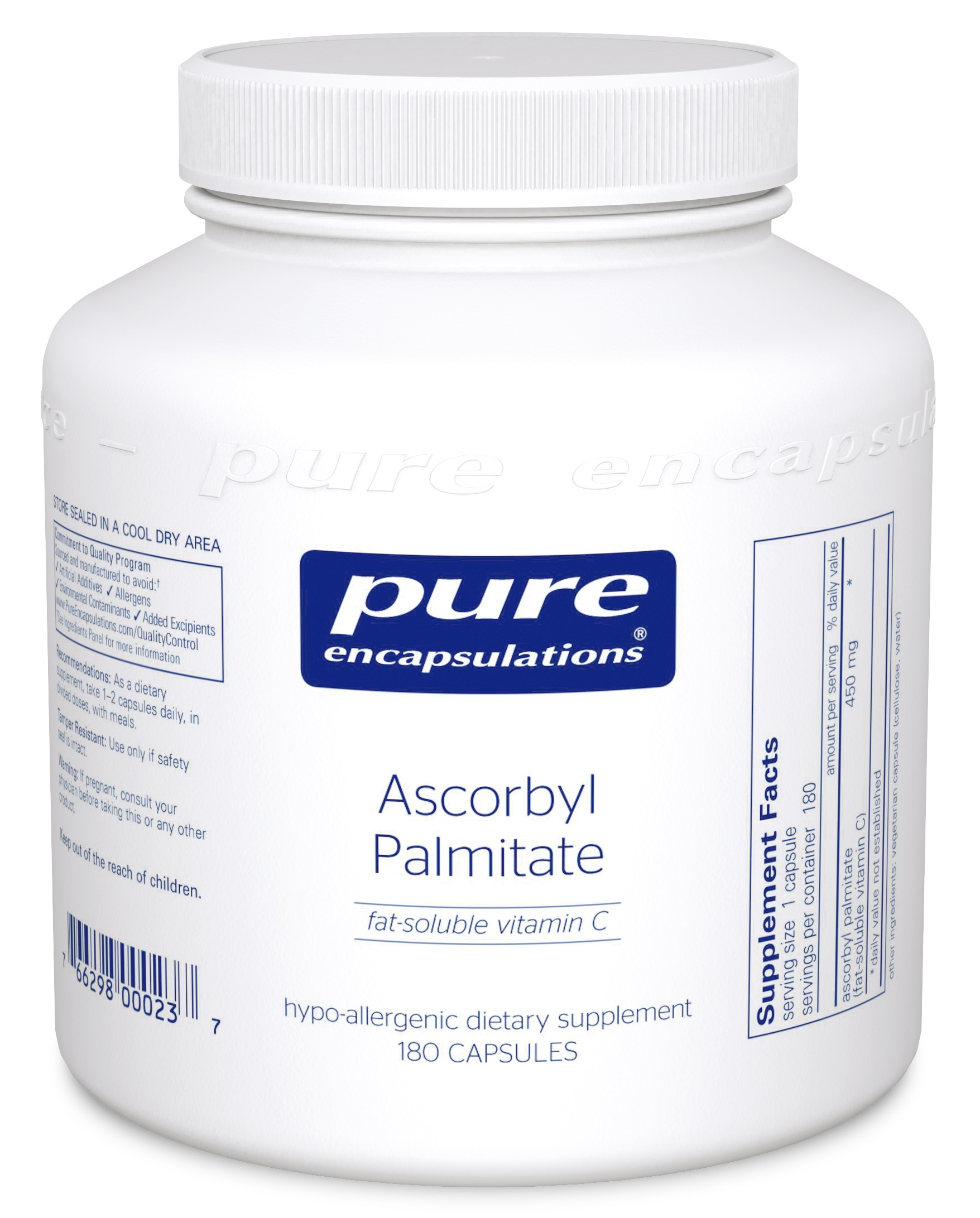 Pure Encapsulations Ascorbyl Palmitate