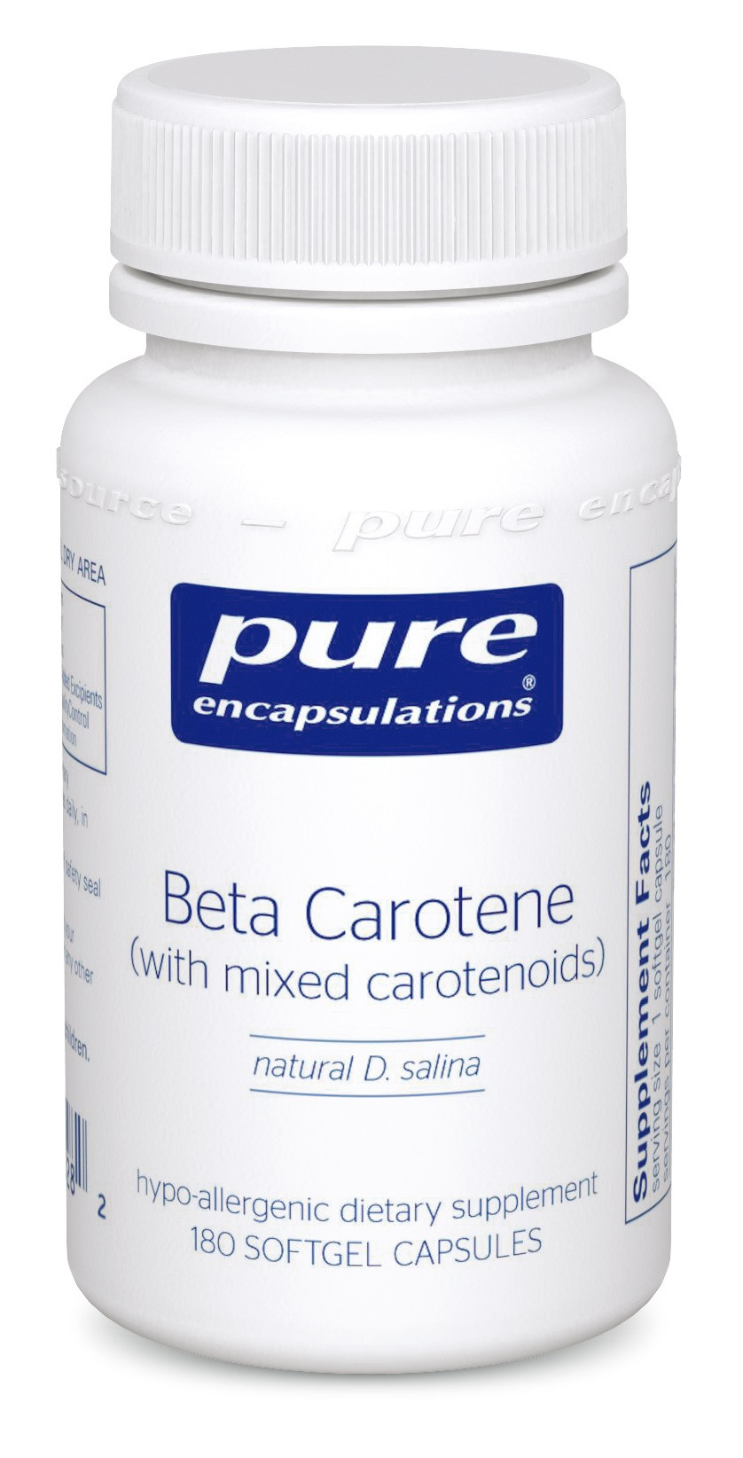Pure Encapsulations Beta-Carotene