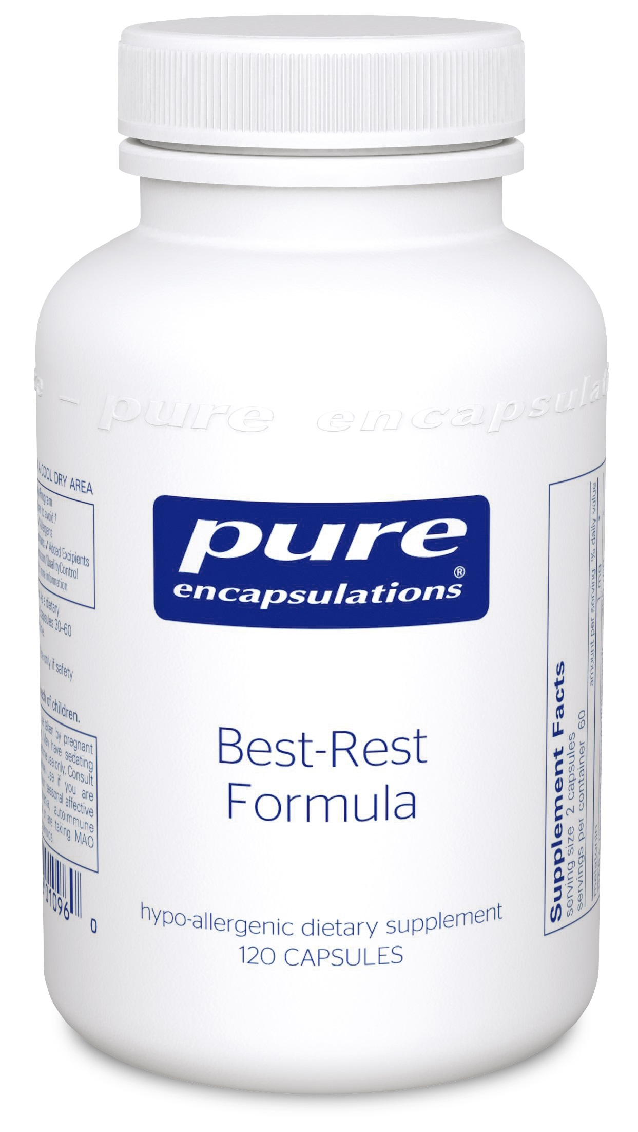 Pure Encapsulations Best-Rest Formula