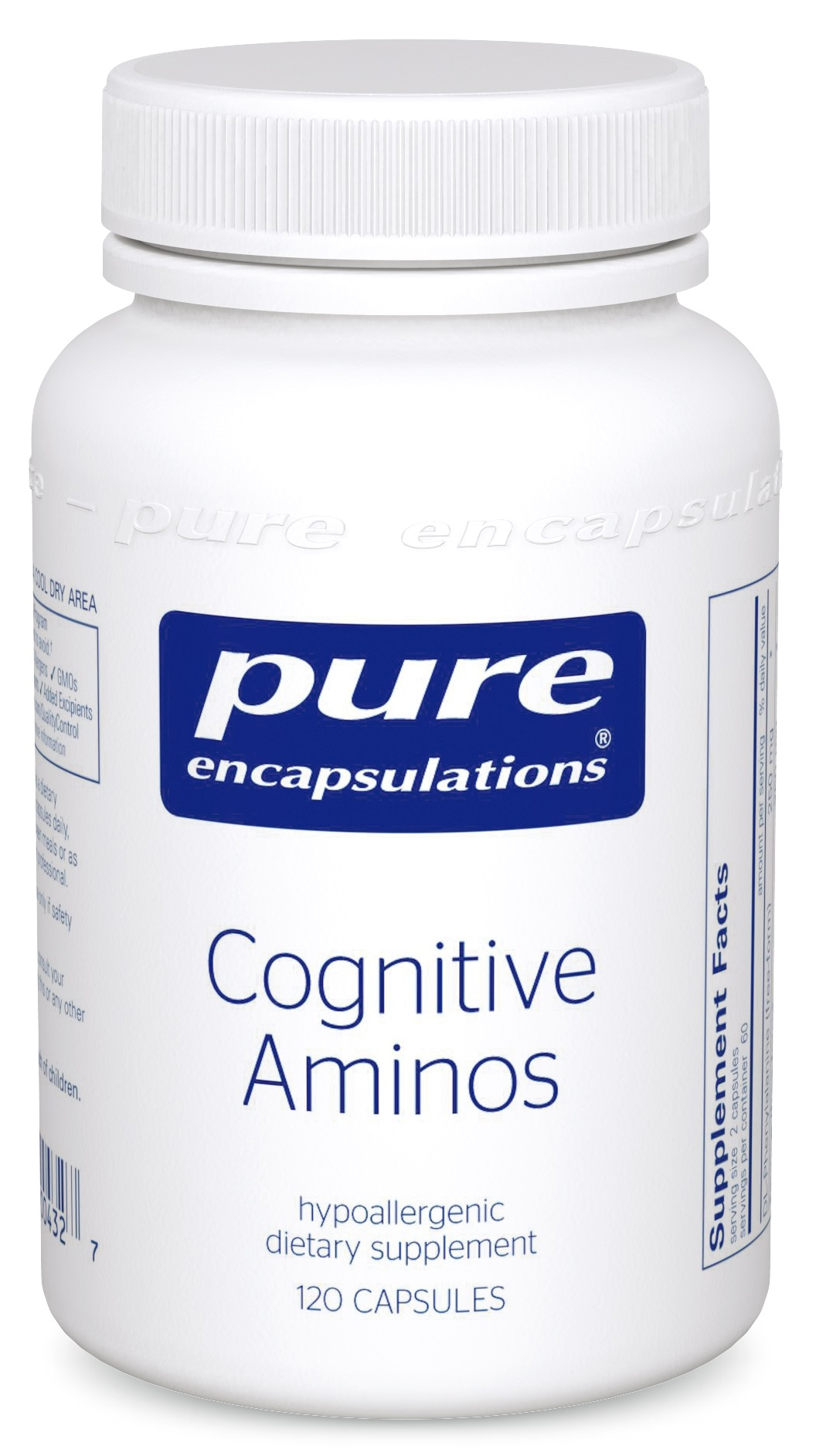 Pure Encapsulations Cognitive Aminos 120's