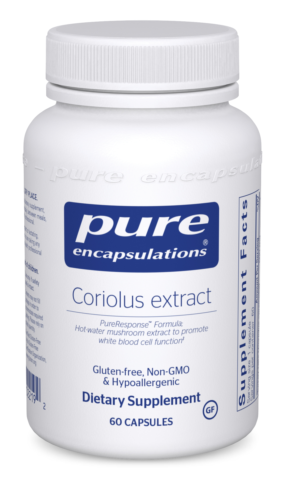 Pure Encapsulations Coriolus Extract
