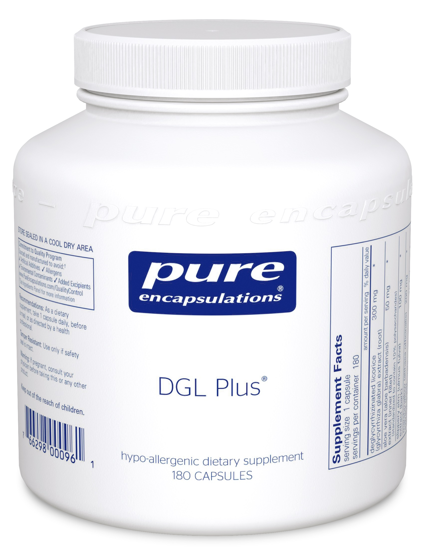 Pure Encapsulations DGL Plus®