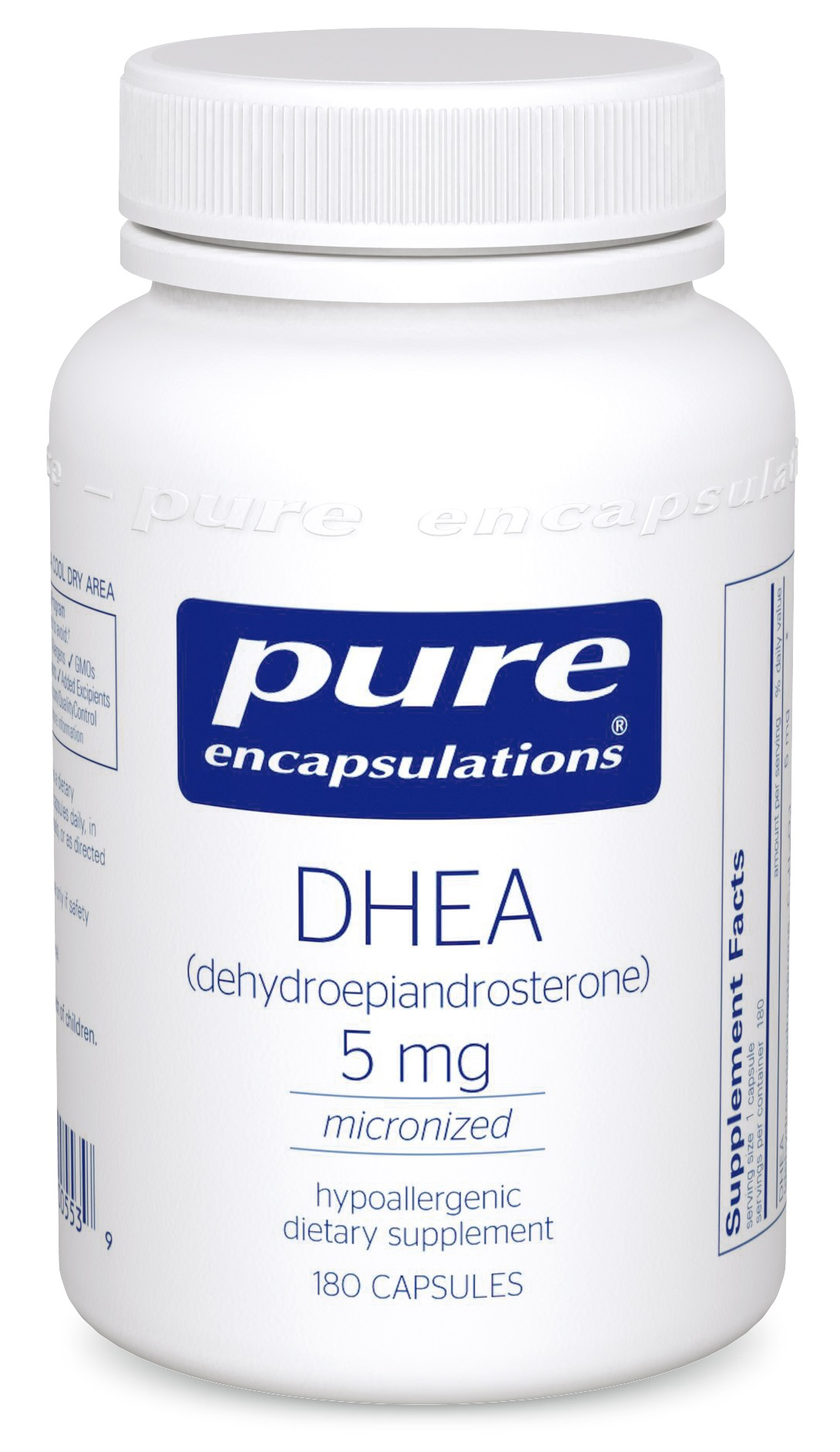 Pure Encapsulations DHEA 5 mg