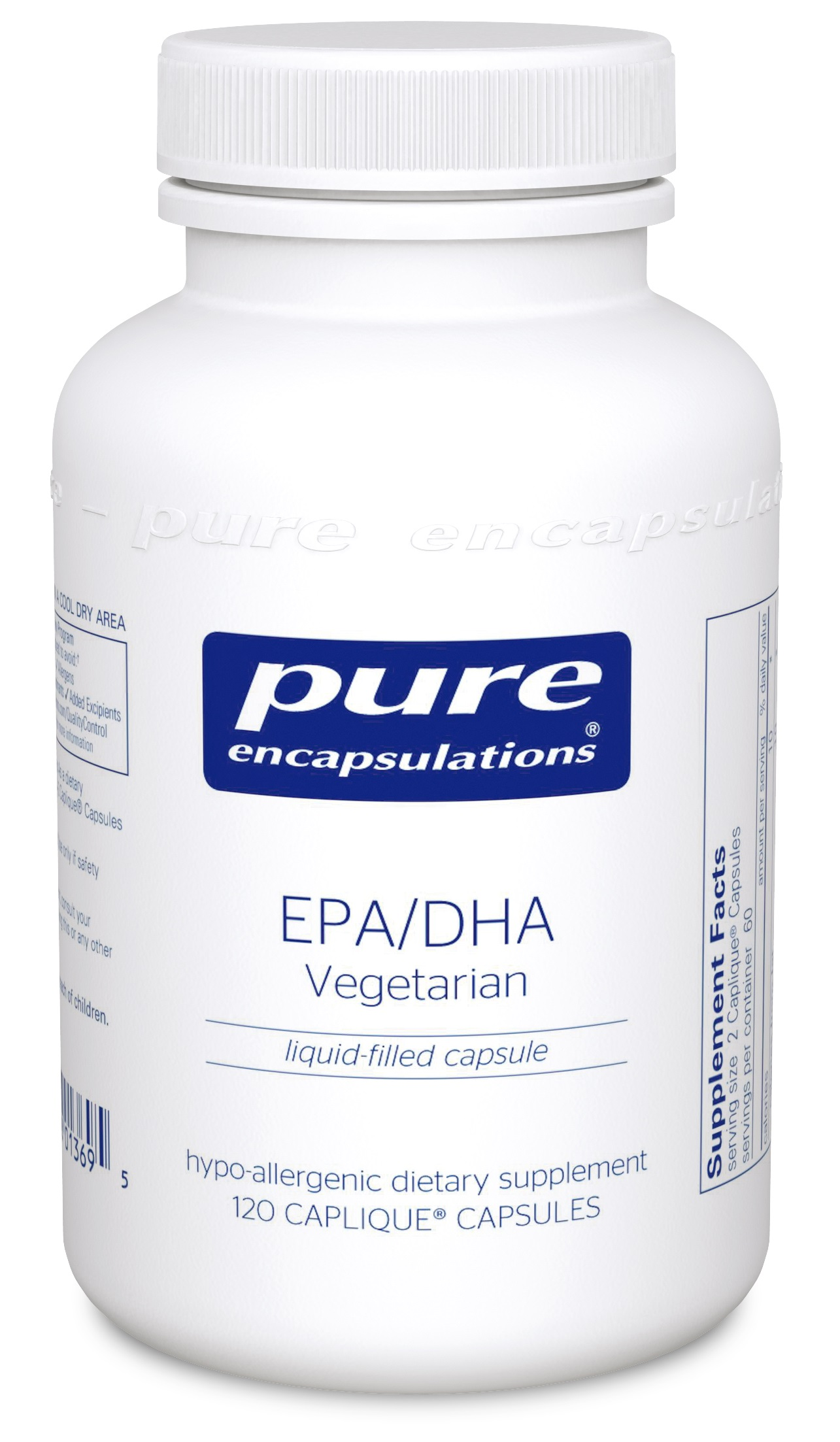 Pure Encapsulations EPA/DHA Vegetarian