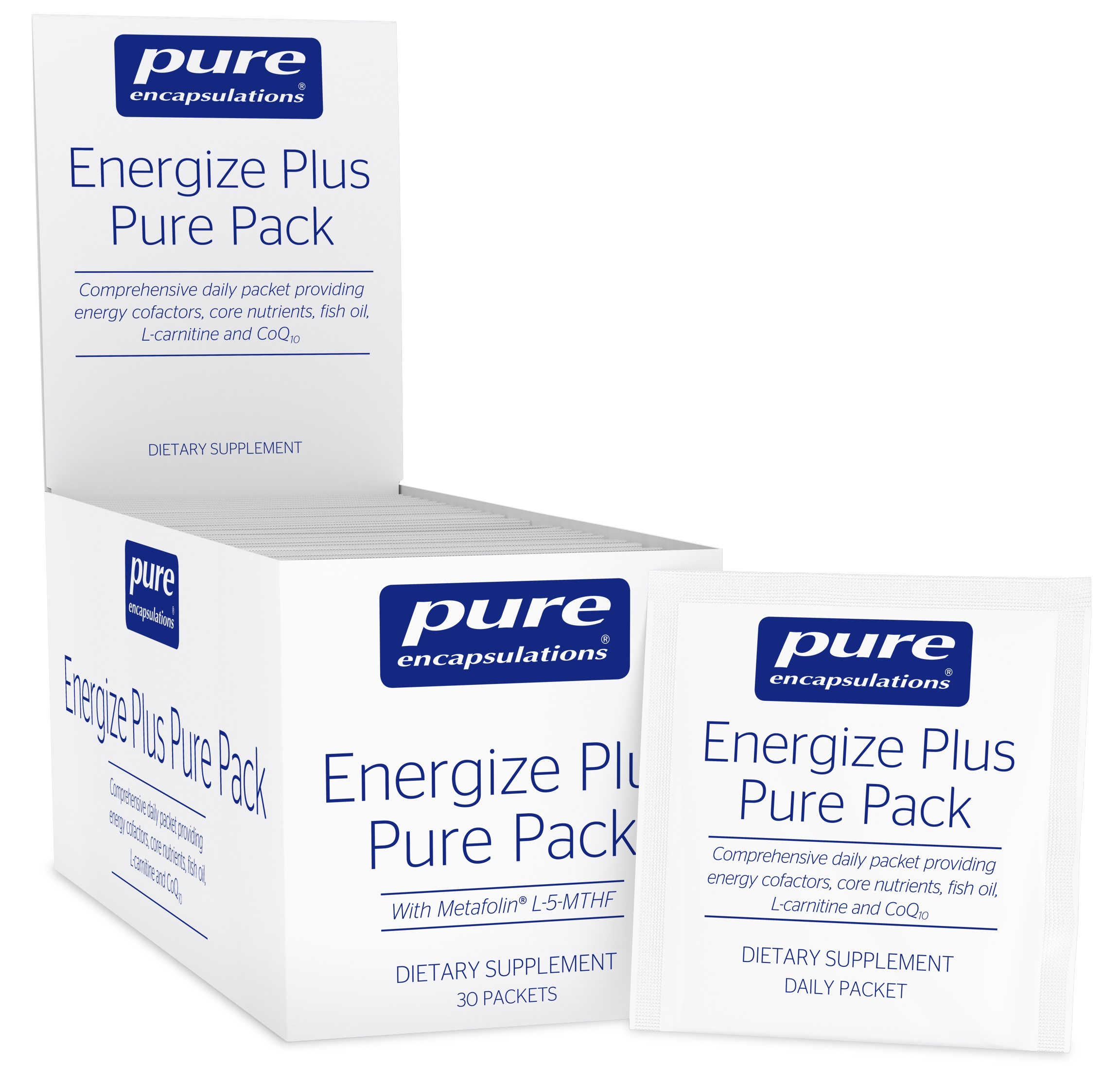 Pure Encapsulations Energize Plus™ Pure Pack 30 packets