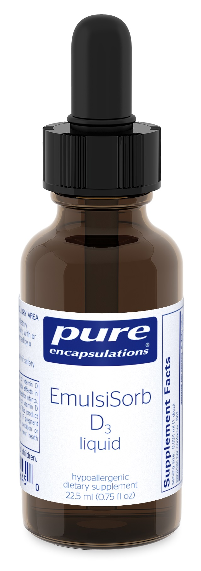 Pure Encapsulations EmulsiSorb D3 liquid 22.5
