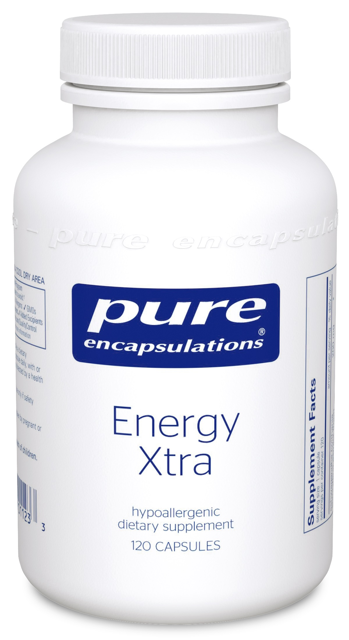 Pure Encapsulations Energy Xtra - IMPROVED