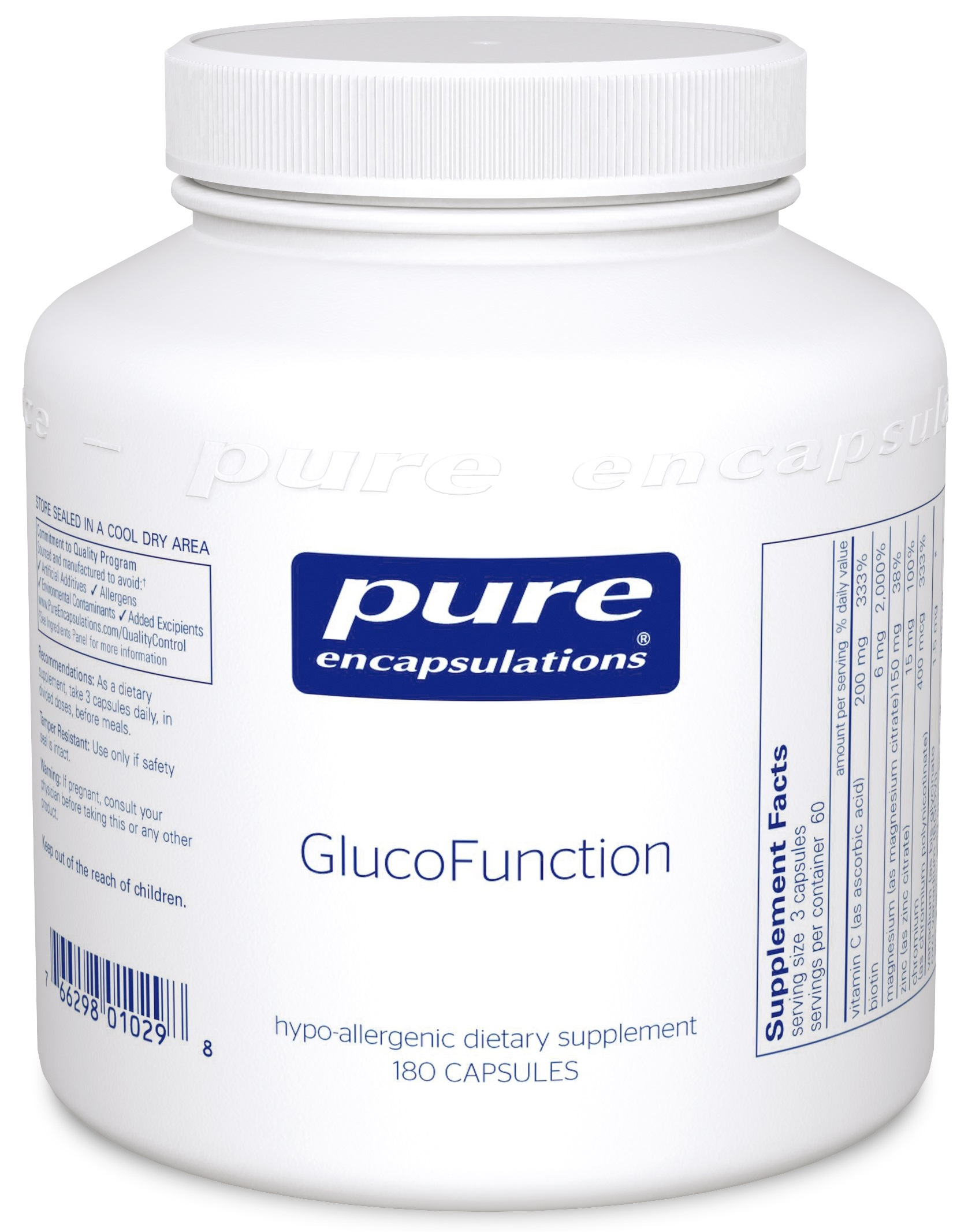 Pure Encapsulations GlucoFunction