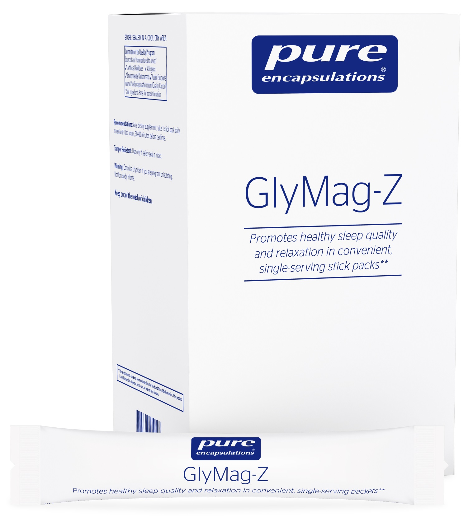Pure Encapsulations GlyMag-Z 30 stick packs