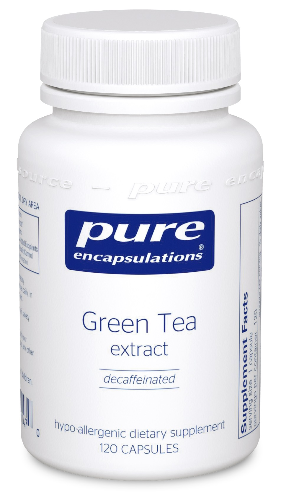 Pure Encapsulations Green Tea extract (decaffeinated)