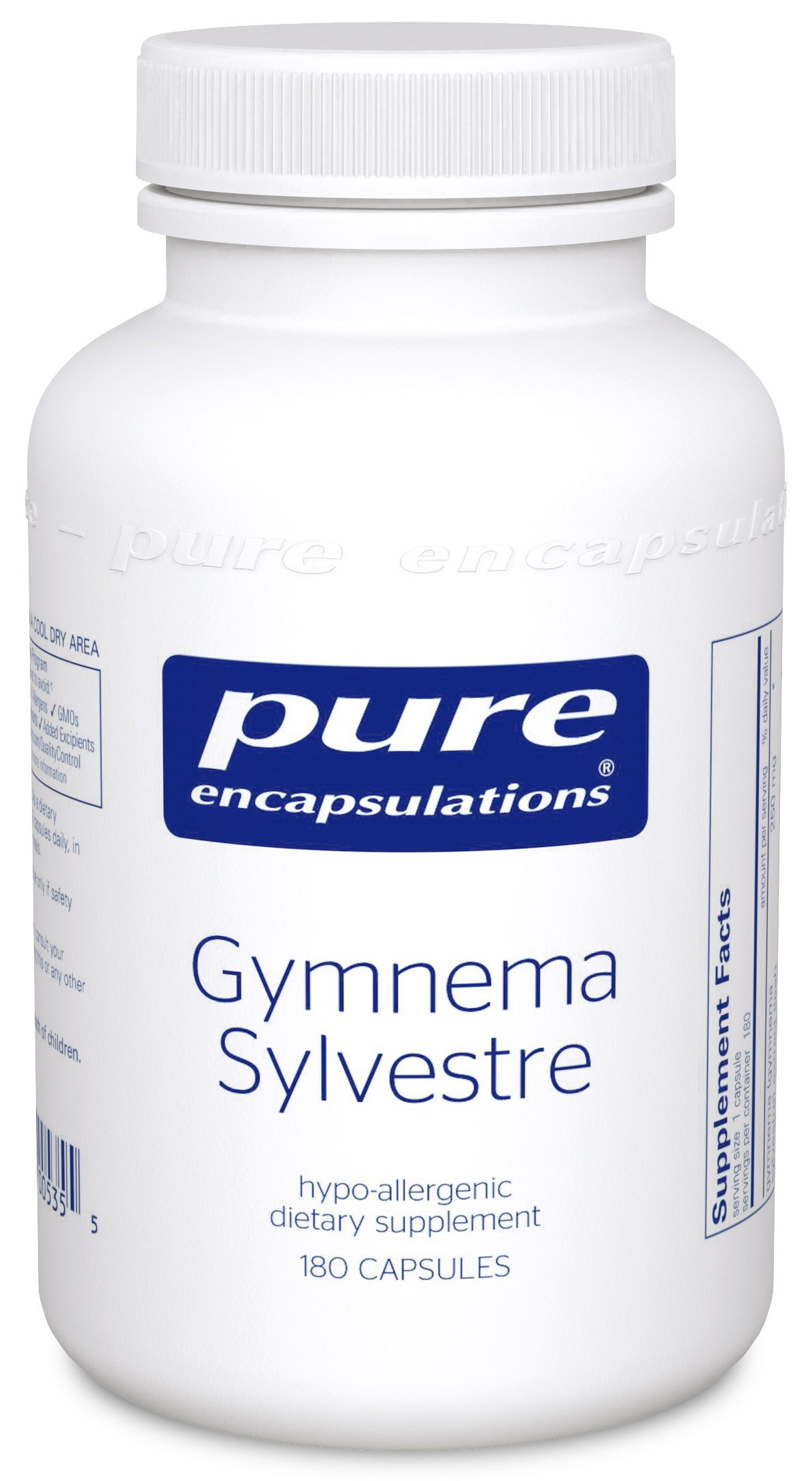 Pure Encapsulations Gymnema Sylvestre 180's