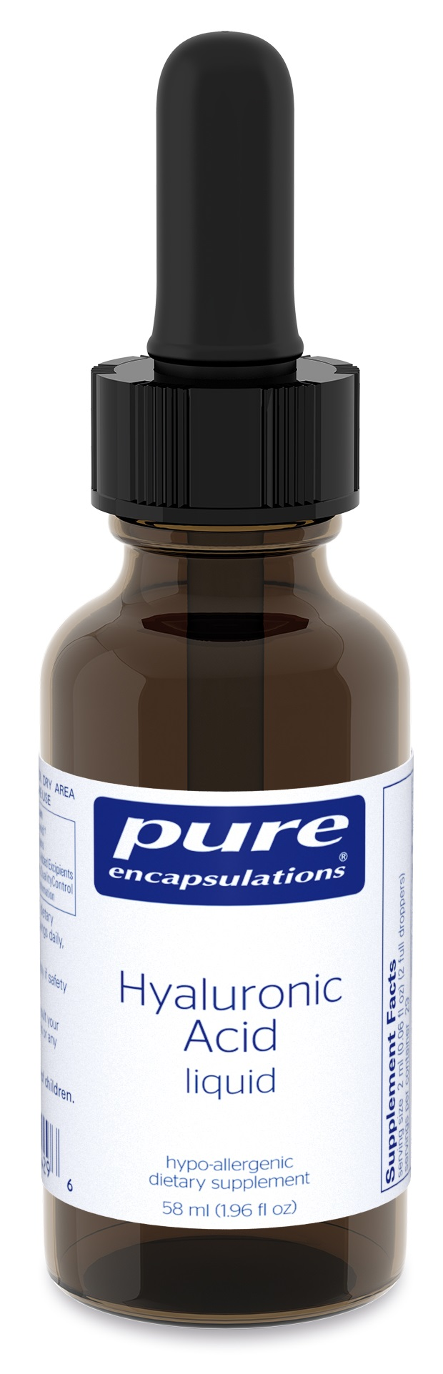 Pure Encapsulations Hyaluronic Acid liquid