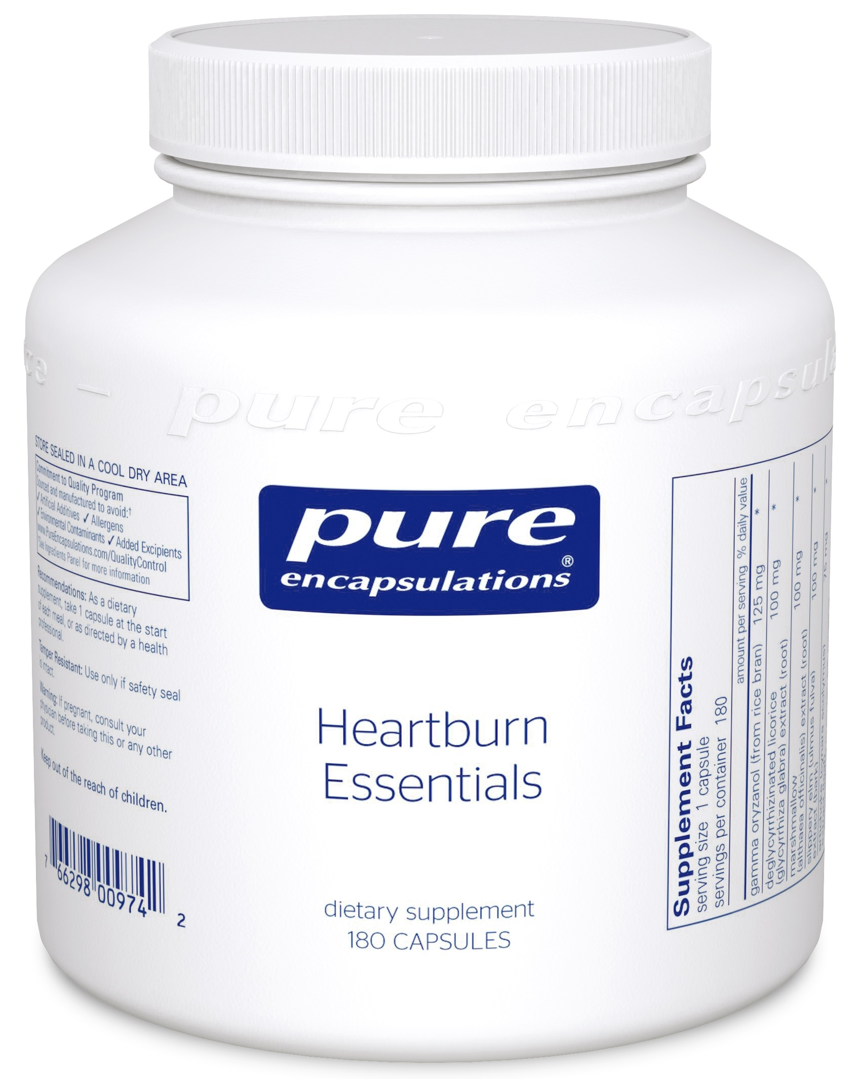 Pure Encapsulations Heartburn Essentials*
