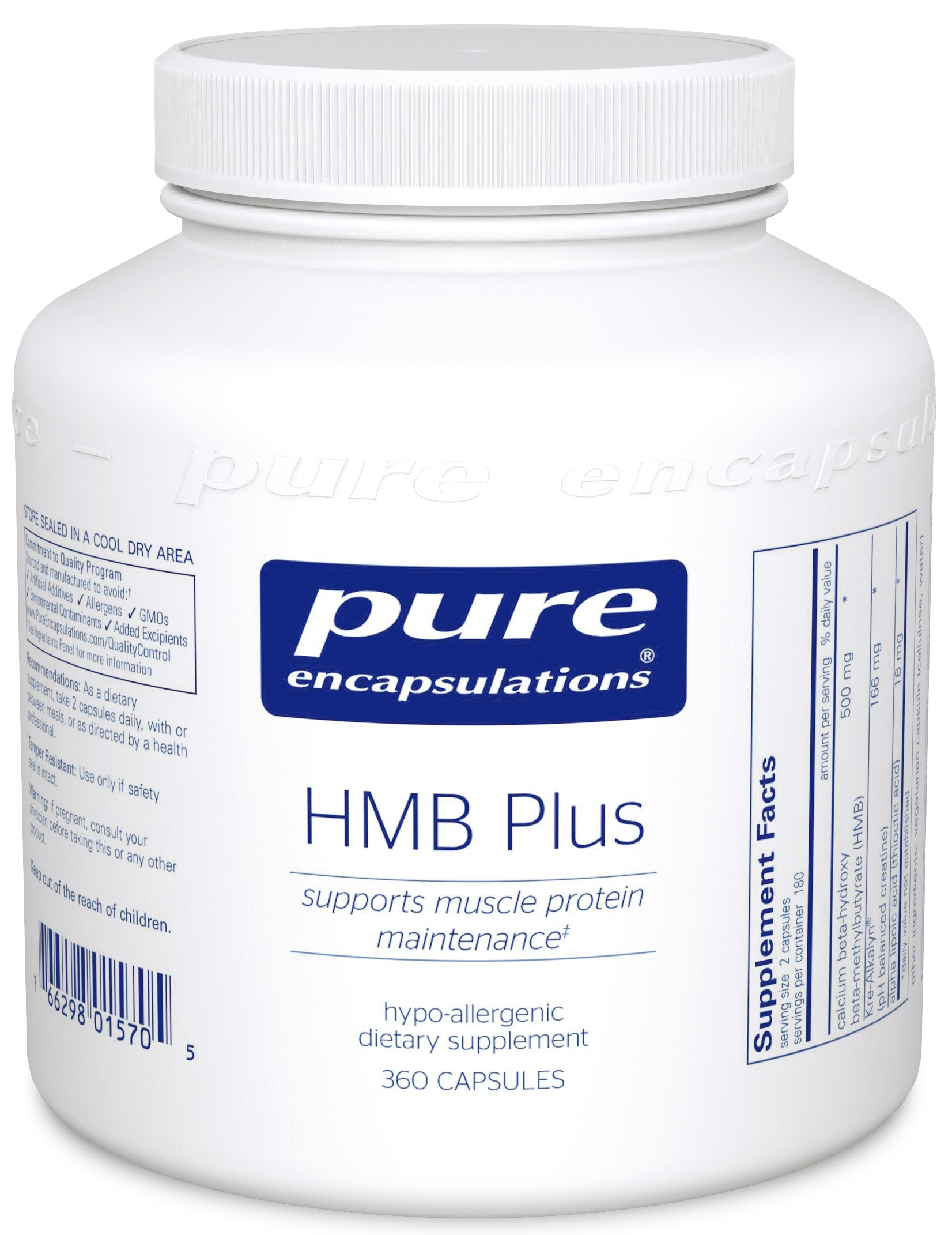 Pure Encapsulations HMB Plus