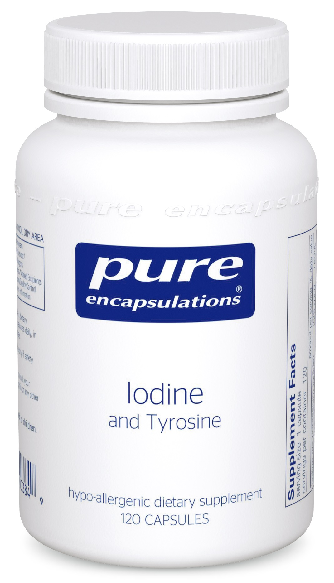 Pure Encapsulations Iodine and Tyrosine