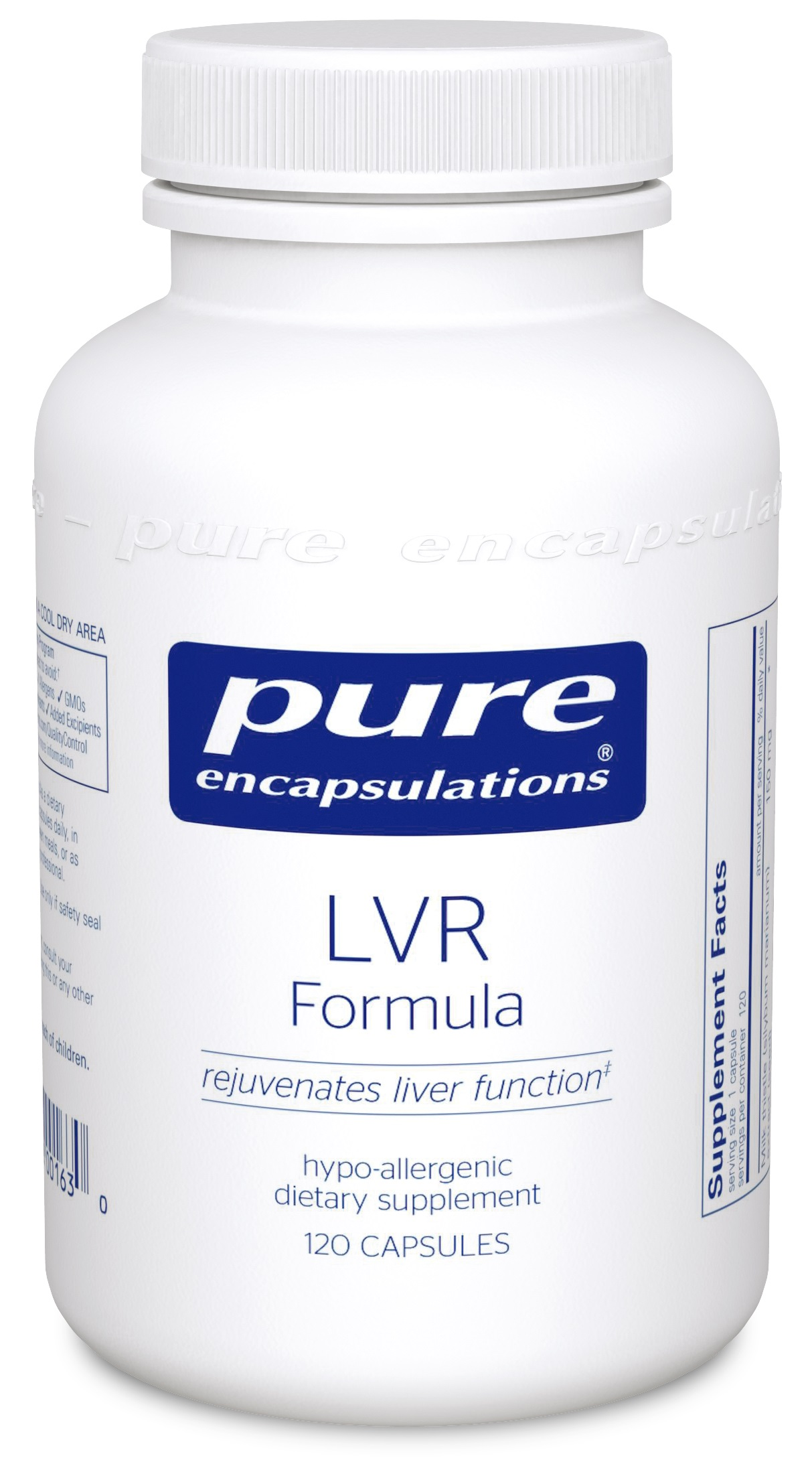 Pure Encapsulations LVR Formula