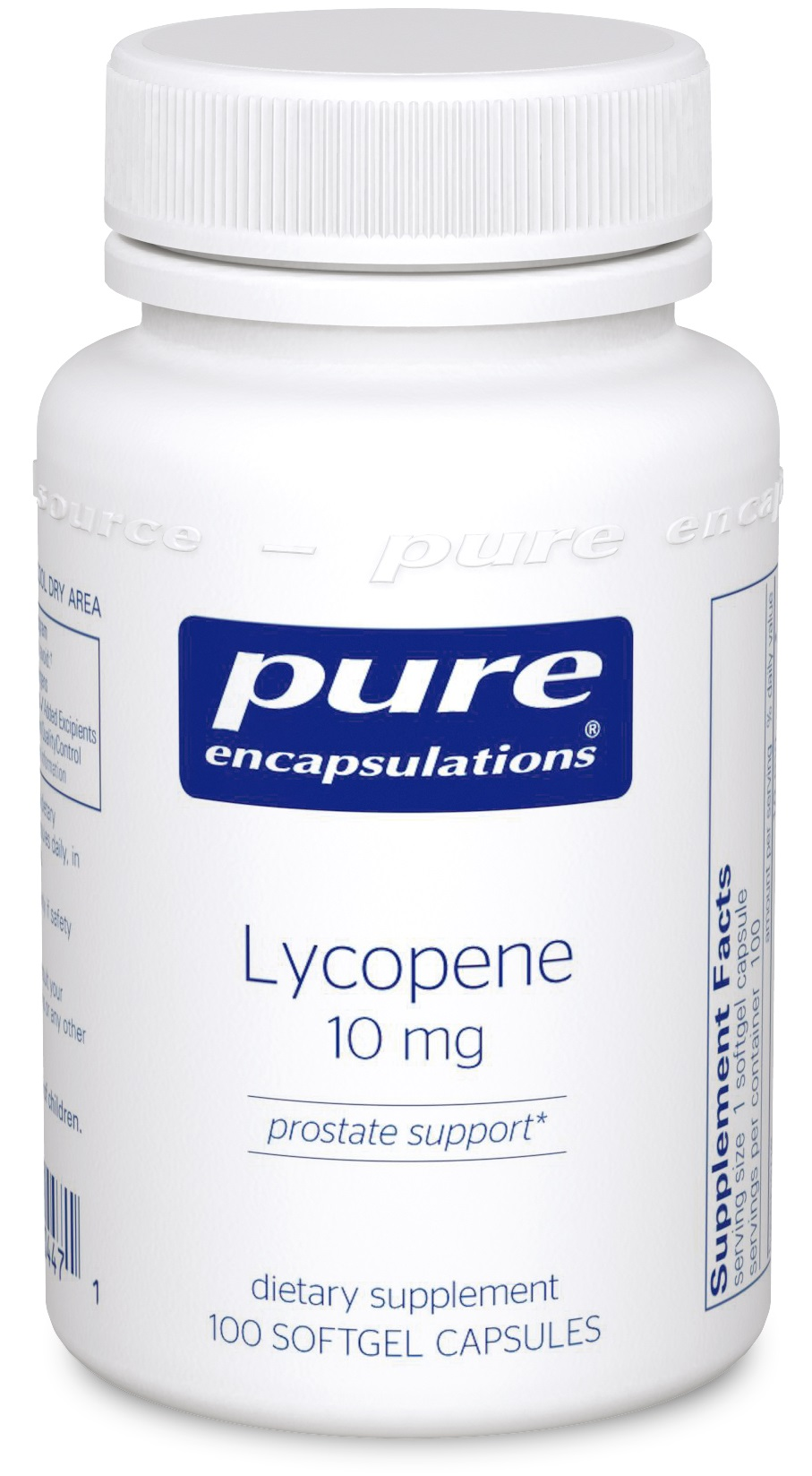 Pure Encapsulations Lycopene 10 mg