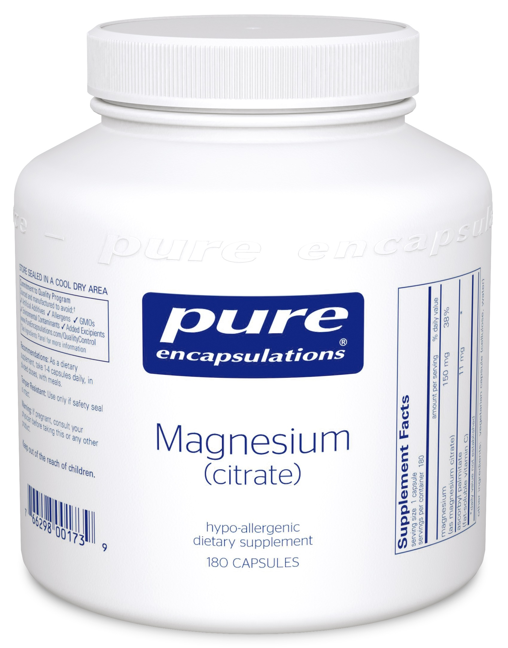 Pure Encapsulations Magnesium (citrate)