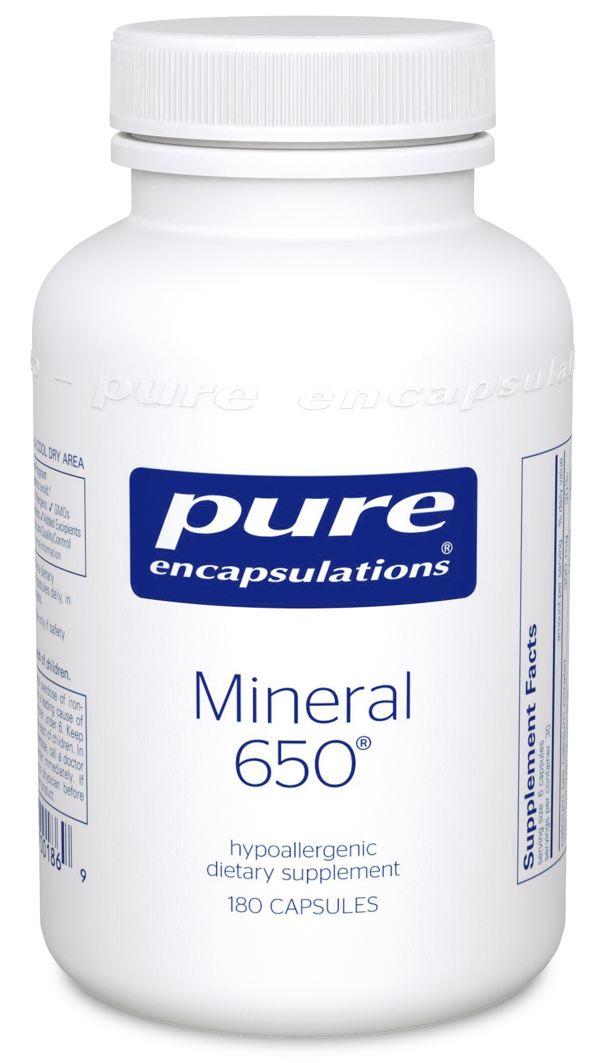 Pure Encapsulations Mineral 650 - 180's