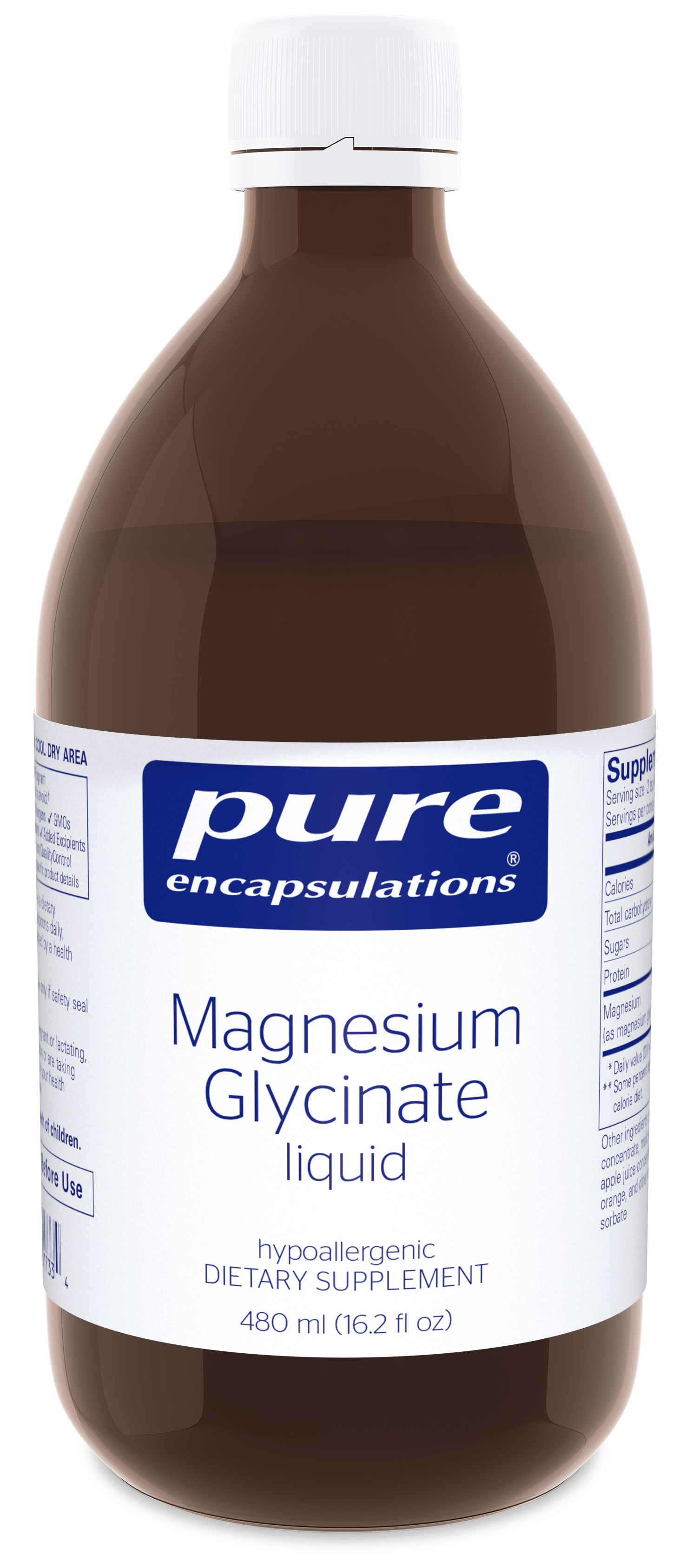 Pure Encapsulations Magnesium Glycinate Liquid