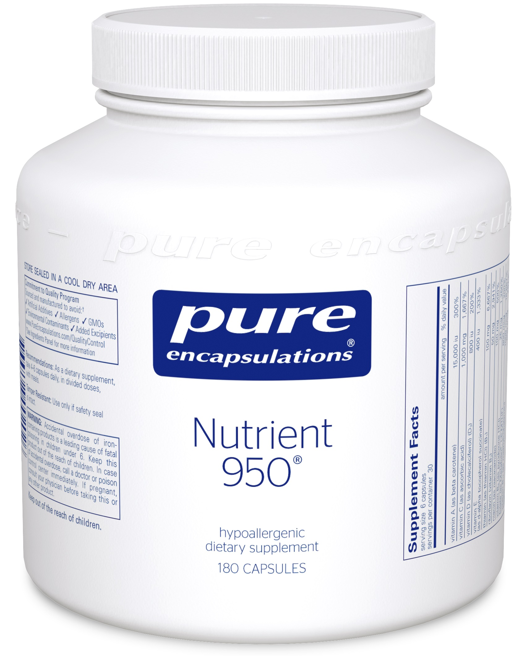 Pure Encapsulations Nutrient 950