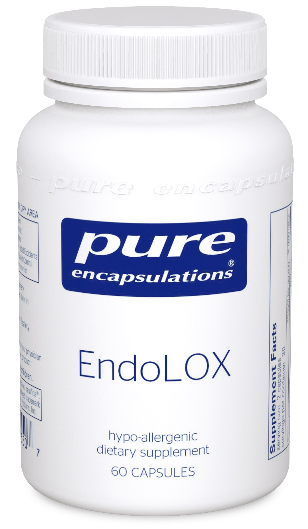 Pure Encapsulations EndoLOX 60's