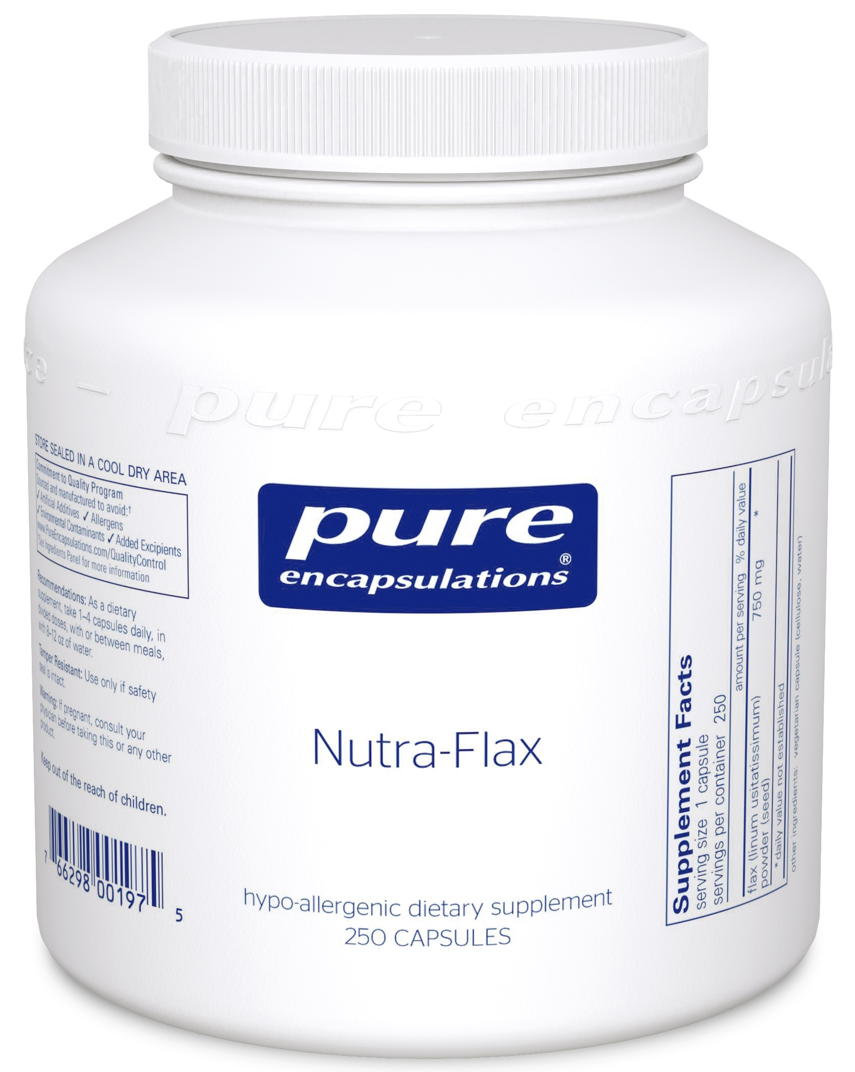 Pure Encapsulations Nutra-Flax