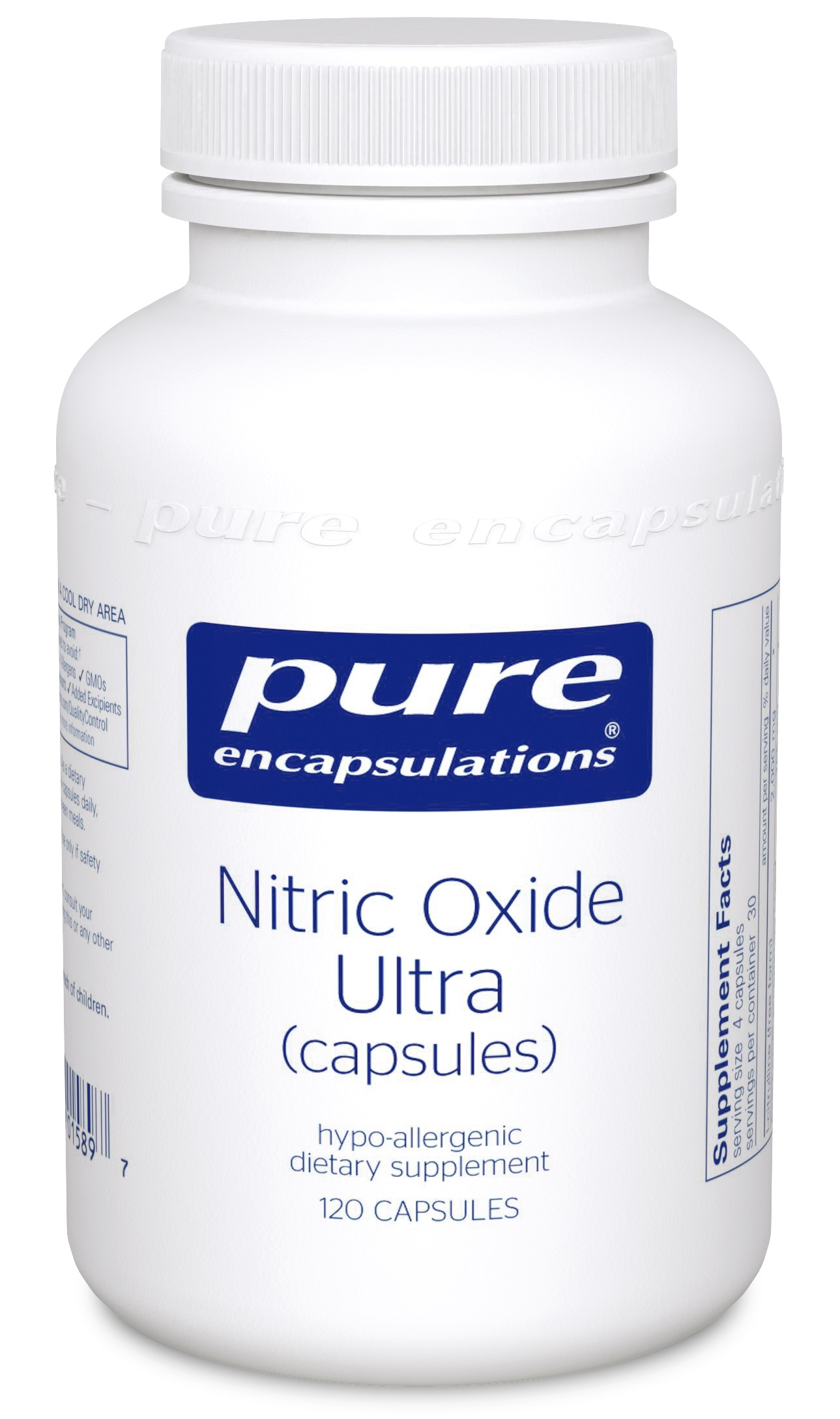 Pure Encapsulations Nitric Oxide Ultra (capsules) 120's