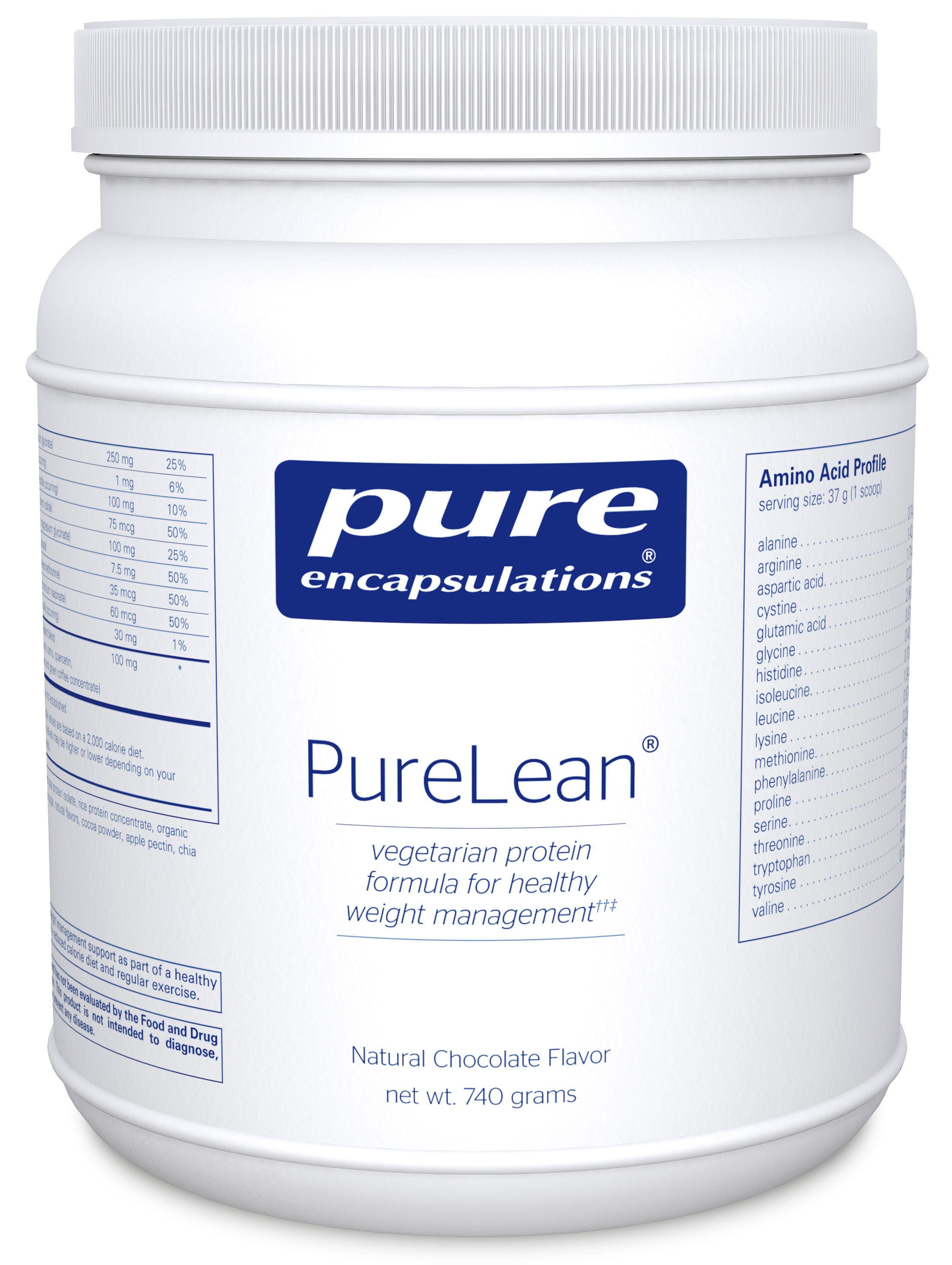 Pure Encapsulations PureLean® Protein Blend Chocolate