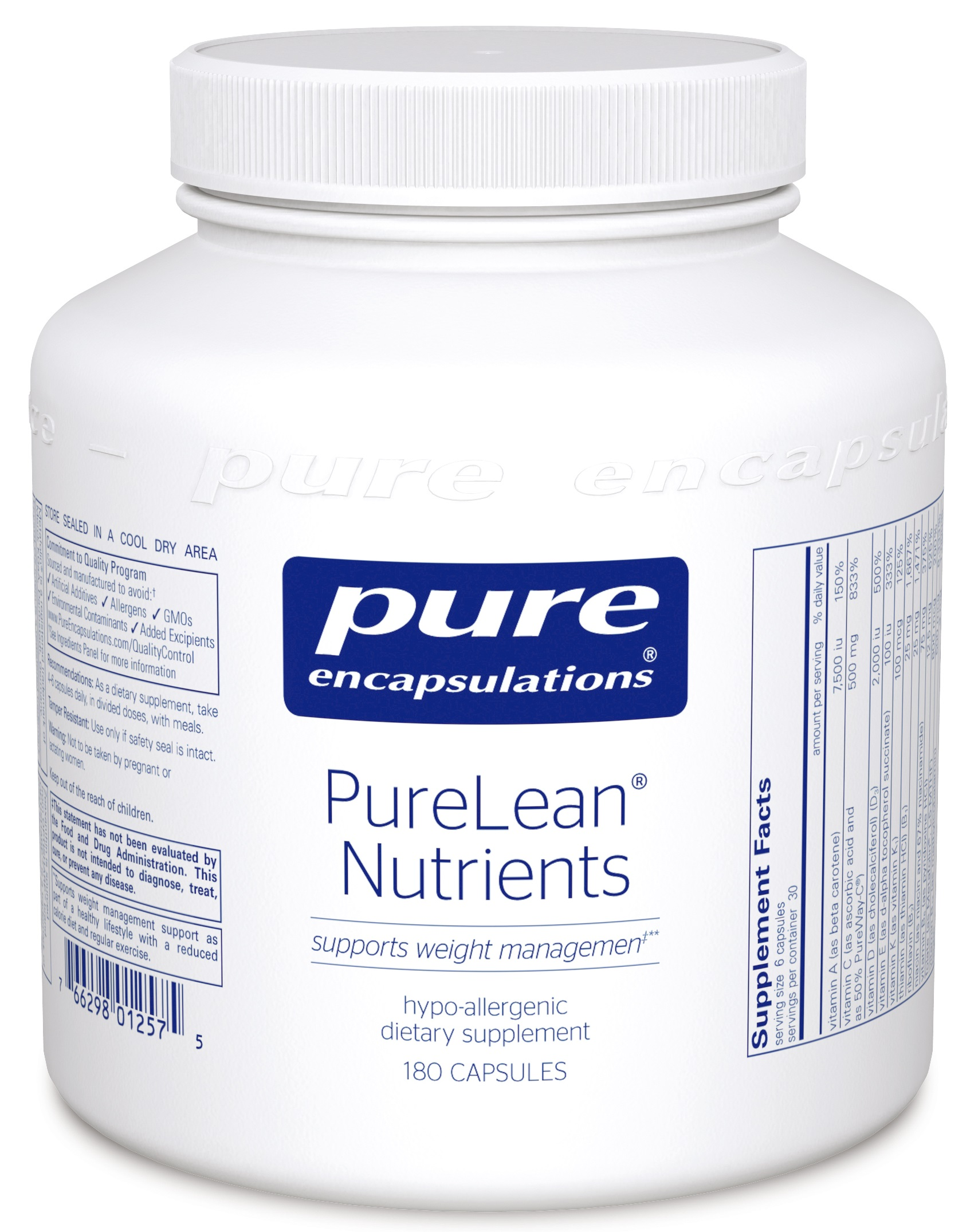 Pure Encapsulations PureLean® Nutrients