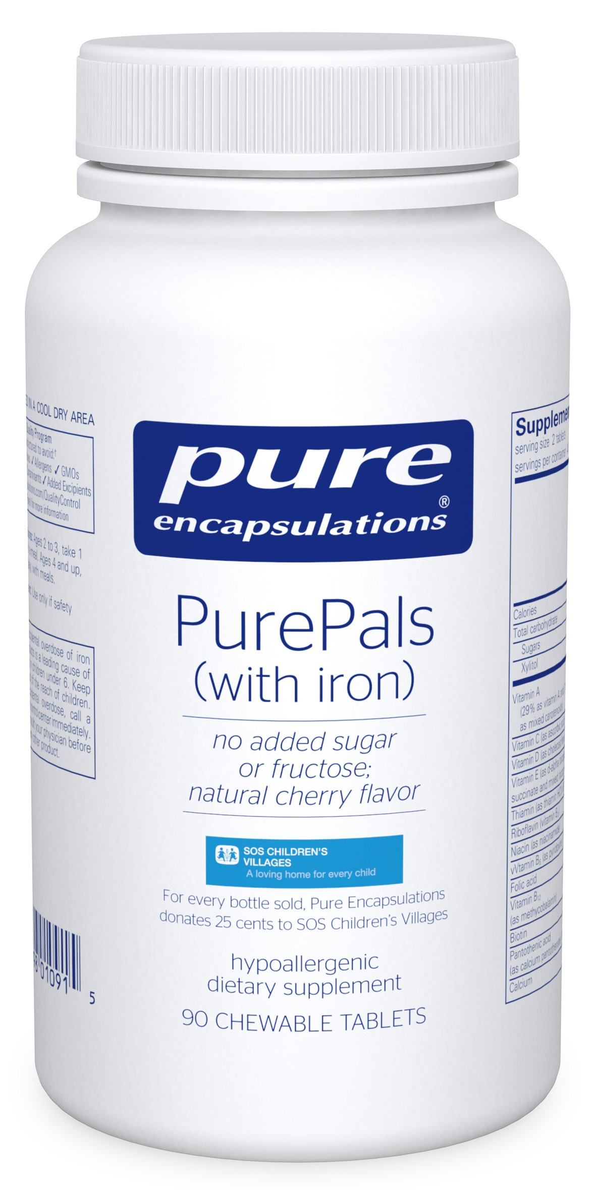Pure Encapsulations PurePals (with iron)