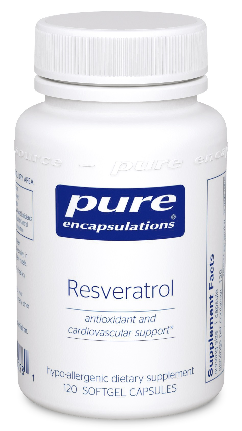 Pure Encapsulations Resveratrol