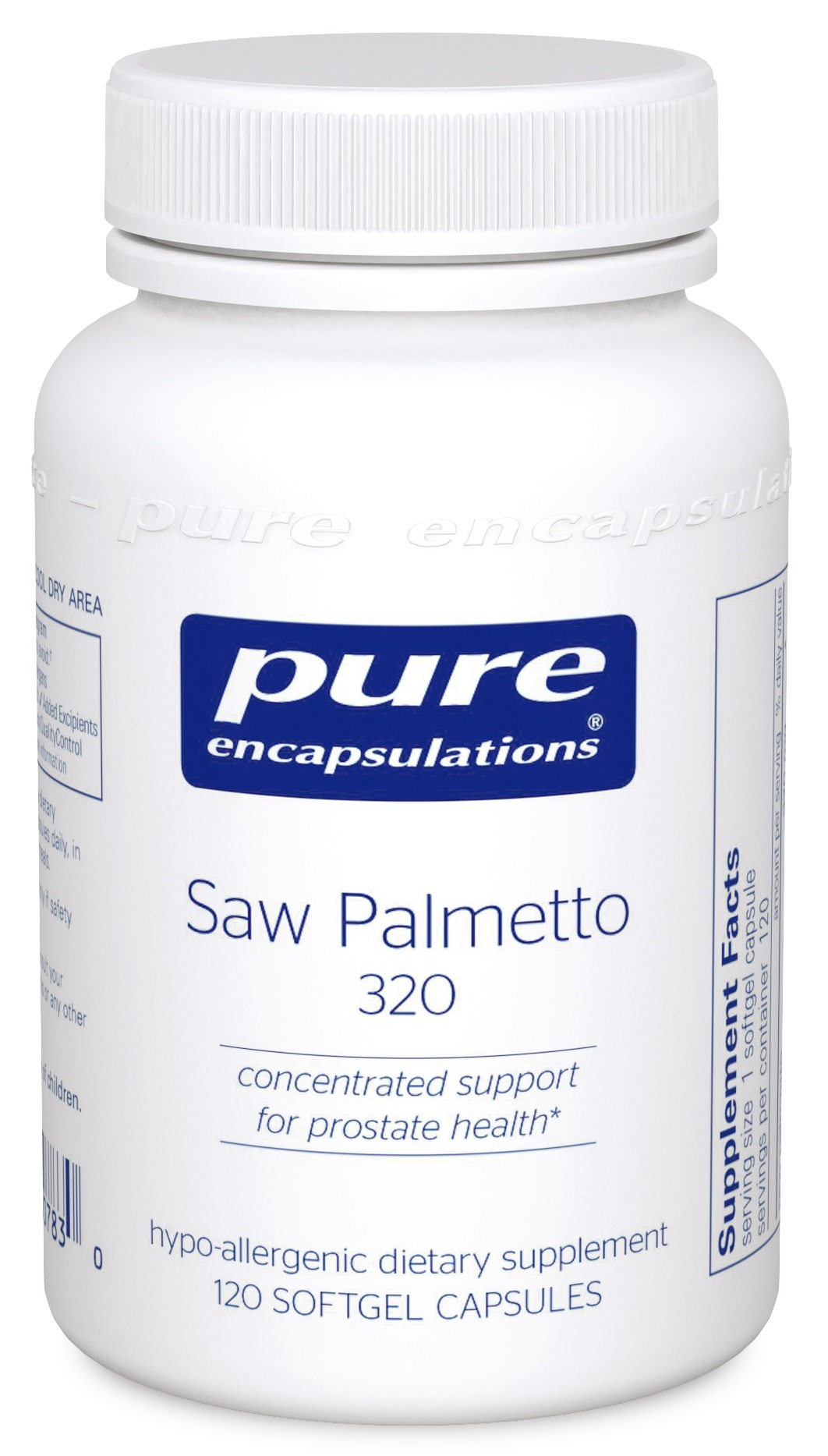 Pure Encapsulations Saw Palmetto 320