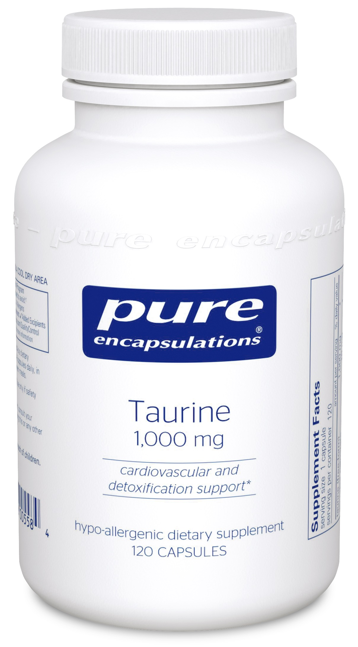 Pure Encapsulations Taurine 1,000 mg
