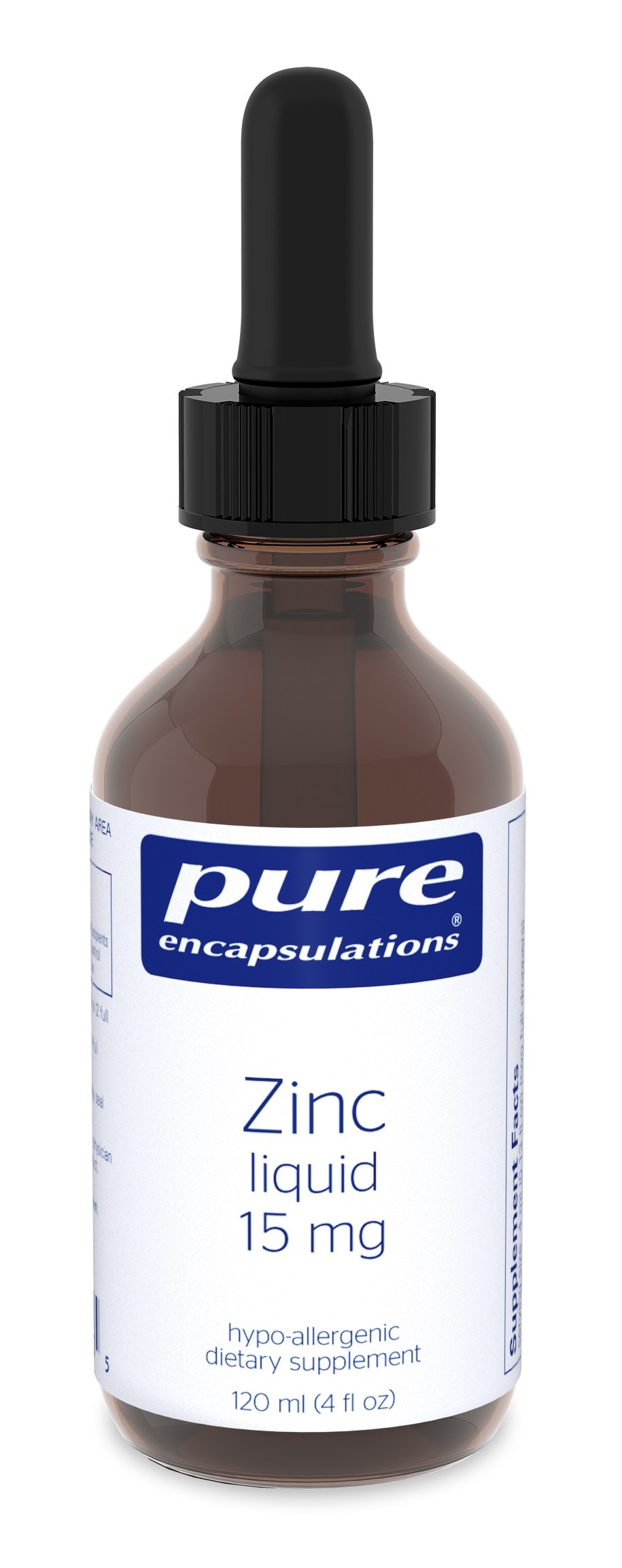 Pure Encapsulations Zinc liquid 15 mg